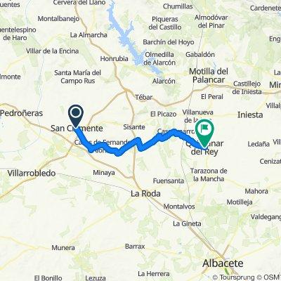 Quintanar del Rey / San Clemente 58km