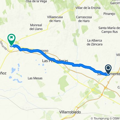 San Clemente / Mota del Cuervo 43km