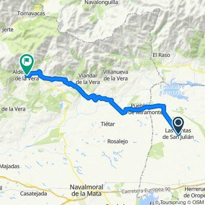 Las Ventas de San Julián / Aldeanueva 49km