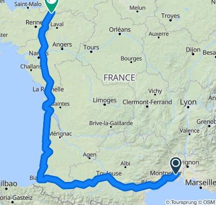 Domaine de Calet til Fougerolles-de-plassis
