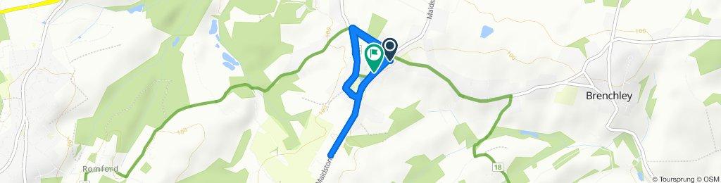 Easy ride in Matfield