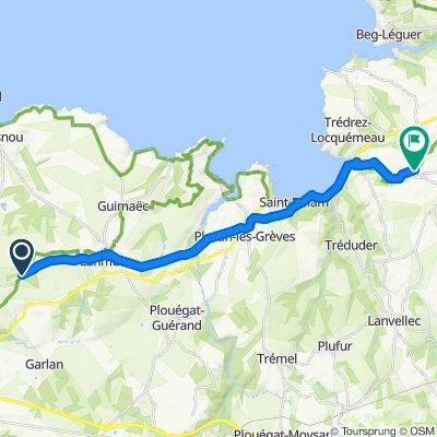 Itinéraire facile en Ploumilliau