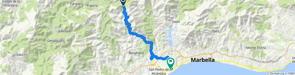 Cracking ride in Igualeja