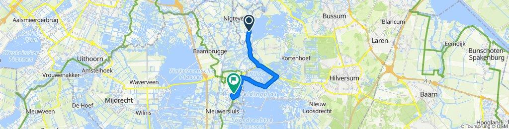 Relaxed route in Loenen aan de Vecht