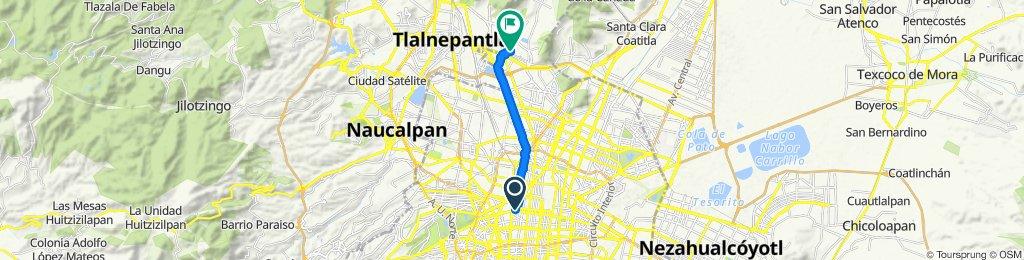 Ruta supersónica en Ciudad de México