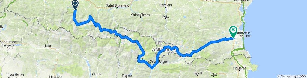 Col de Tourmalet-Pirinei