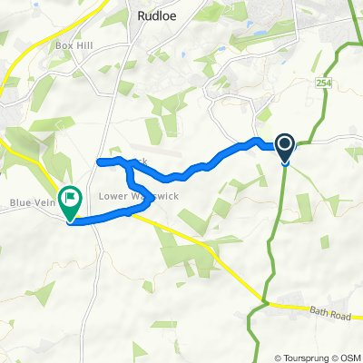 Restful route in Corsham