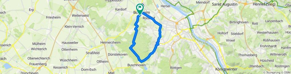 Moderate Route in Bornheim