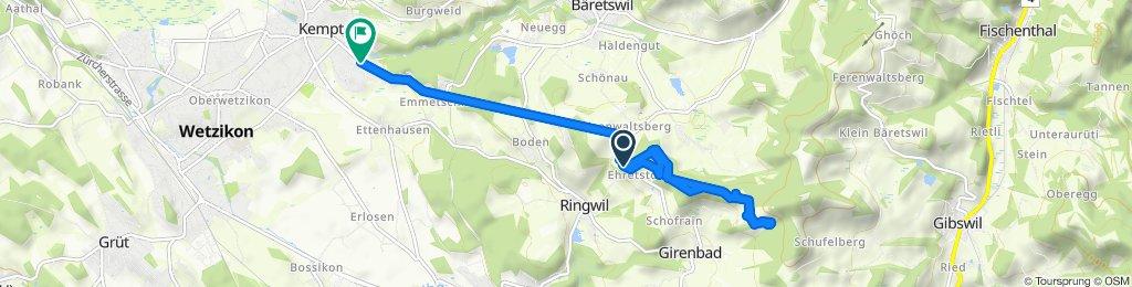 Spaziergang im Zürioberland