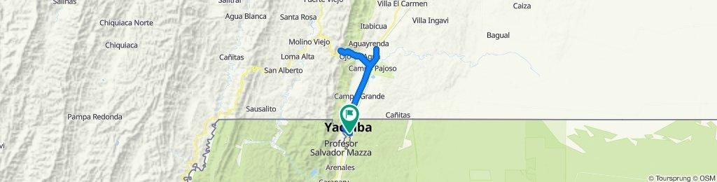 Yacuíba _ Carapari _ Yacuiba