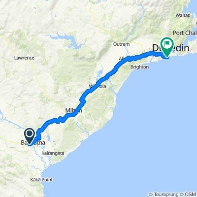 Balclutha to Dunedin