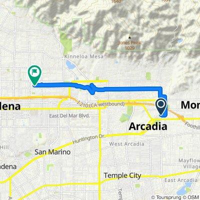 Slow ride in Pasadena