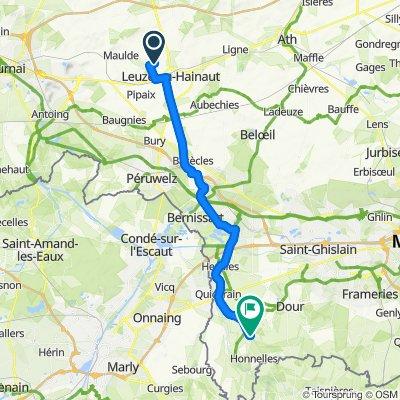 Itinéraire reposant en Honnelles