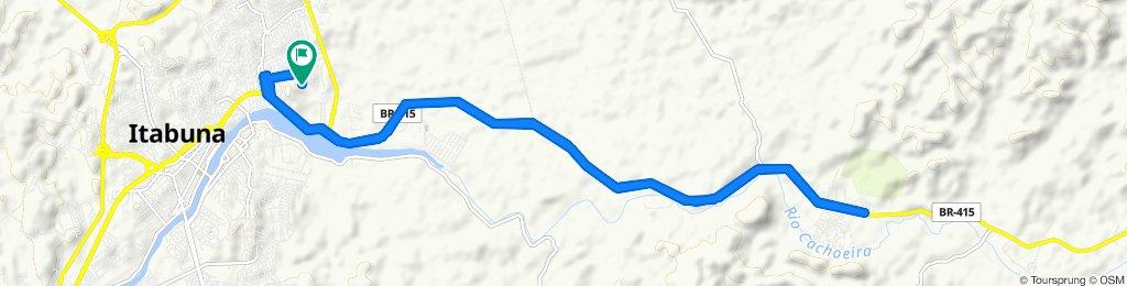 Passeio rápido em Itabuna