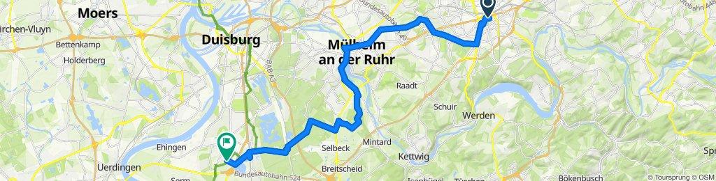 rellinghauser essen nach Antweiler Duisburg
