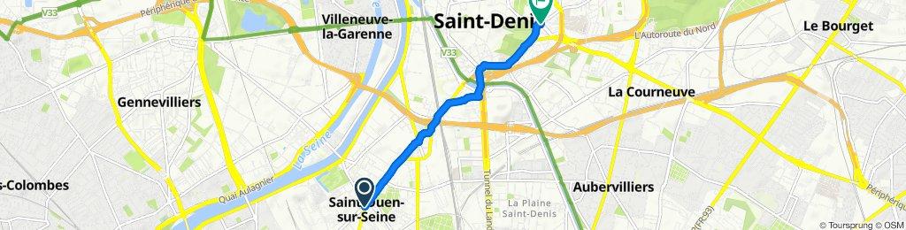 Itinéraire modéré en Saint-Denis