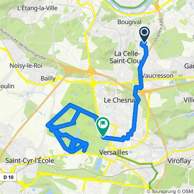 Itinéraire modéré en La Celle-Saint-Cloud