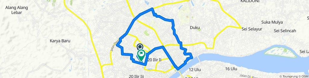 #payobesepeda rute pingiran sungai