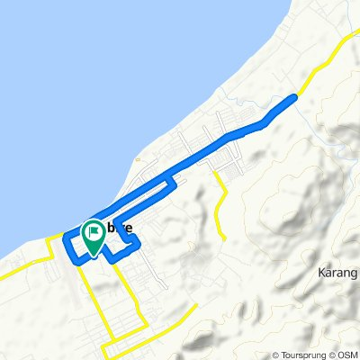 Moderate route in Kecamatan Nabire