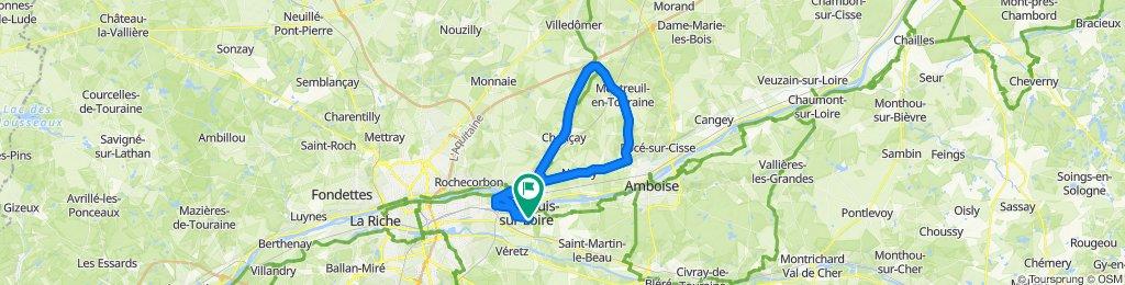 Crisp ride in Montlouis-sur-Loire