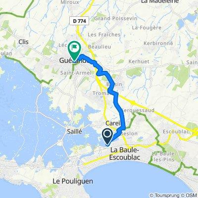 Itinéraire reposant en Guérande