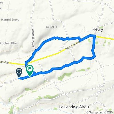 Itinéraire reposant en Champrepus
