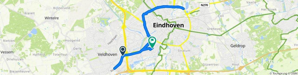 Ontspannen route in Eindhoven