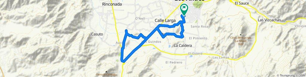 Ruta moderada en Los Andes