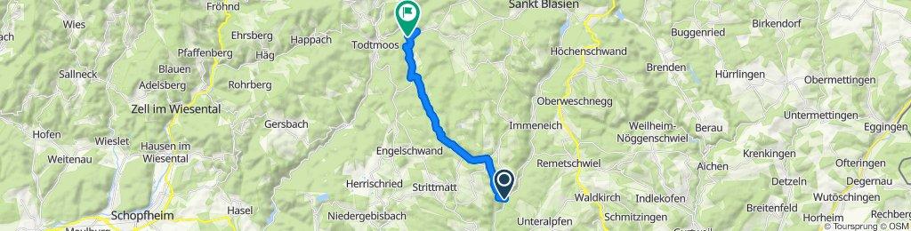Ibacher Kreuz, 1069m (via Lindau)