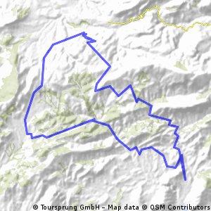 Orxeta-Torremanzanas-Penaguila-Orxeta CLONED FROM ROUTE 309615