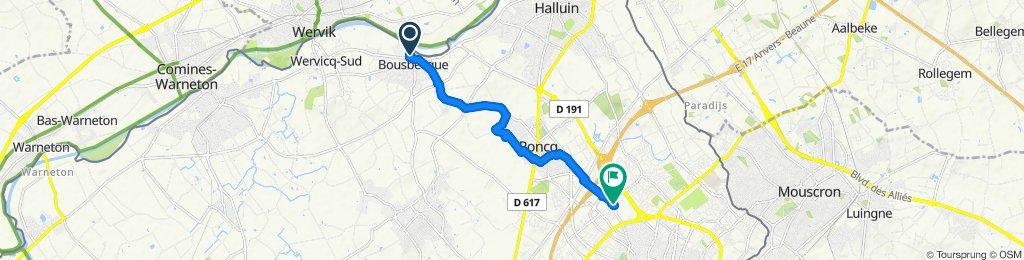 Itinéraire modéré en Tourcoing
