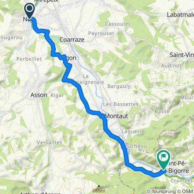 2-Nay - Saint Pé de Bigorre par la V81