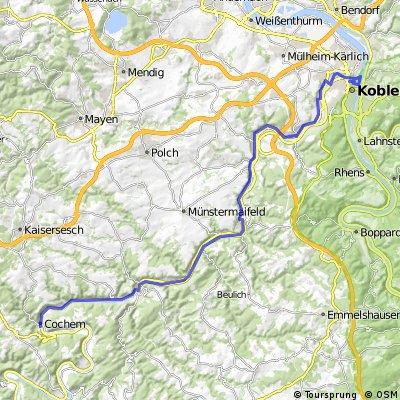 Mosel Teil 4 - Cochem bis Koblenz