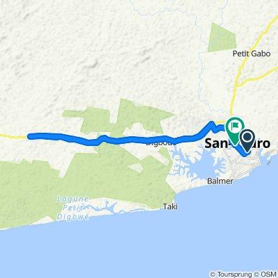 Voyage meurtrier dans San-Pédro