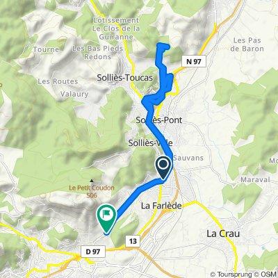 Route stable en La Valette-du-Var