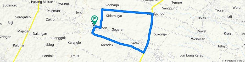 Restful ride in Kecamatan Polanharjo