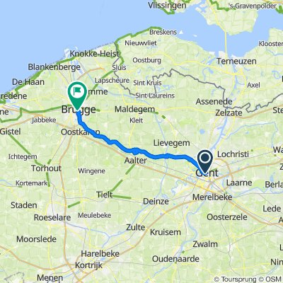 Ghent to Brugge