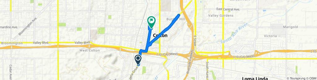 Steady ride in Colton