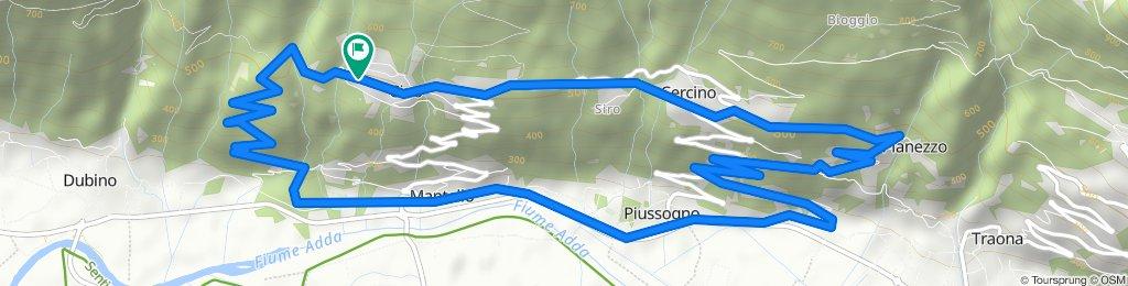 Giro semplice in Cino