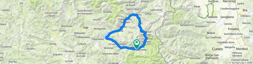 TdA 2020 - 3. Etappe - Col de Vars
