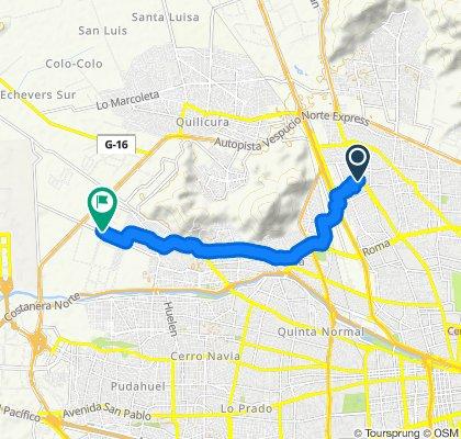 Ruta supersónica en Renca
