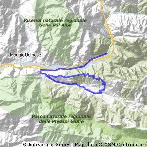 Chiusaforte-Prato di Resia-Ruscjis-Chiusaforte