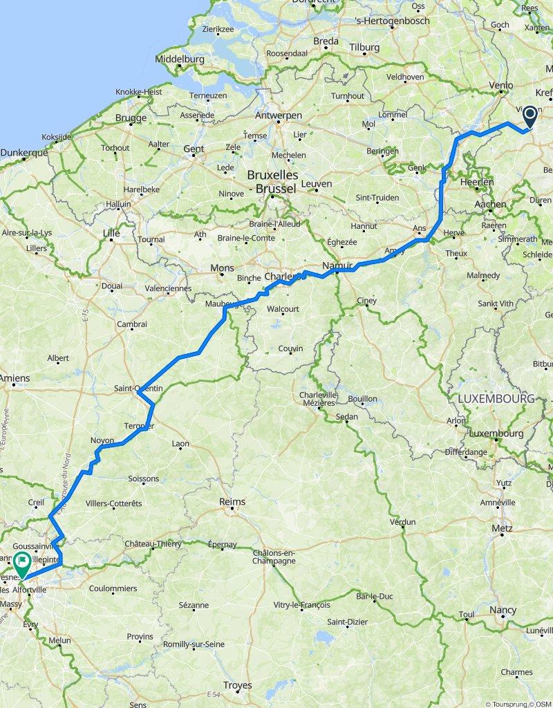 Tour 2020 Paris