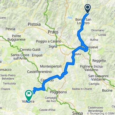 toscane 2020  etape 2