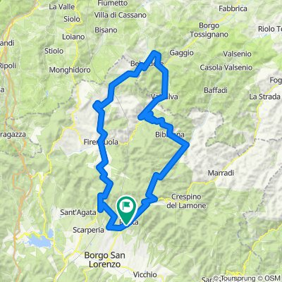 Toscane 2020  etape 1