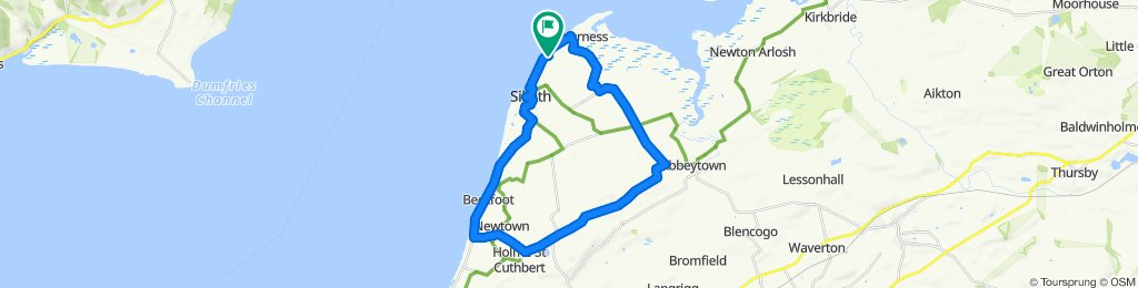Restful ride in Silloth