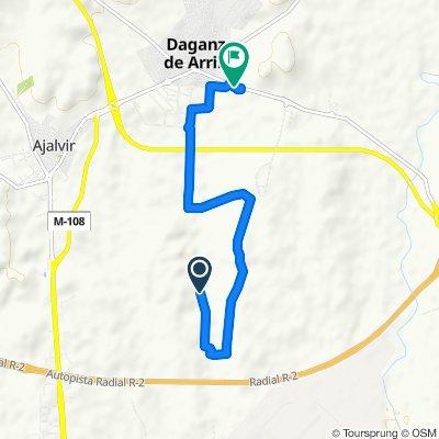 Paseo lento en Daganzo