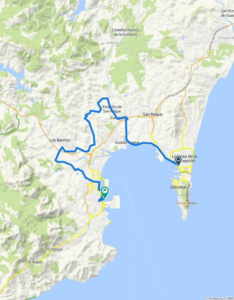 20-01-08 La Línea - Algeciras