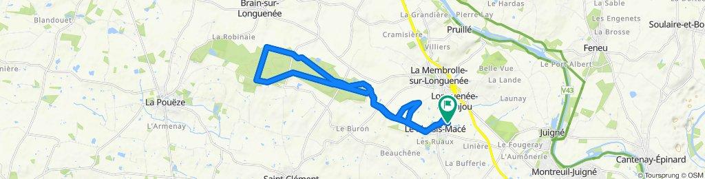 Itinéraire reposant en Le Plessis-Macé