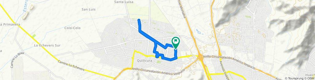 Ruta moderada en Quilicura